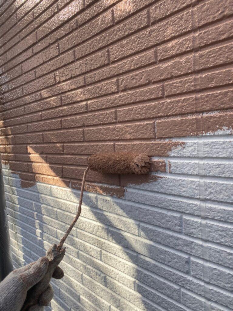 久留米市 外壁中塗り 写真4
