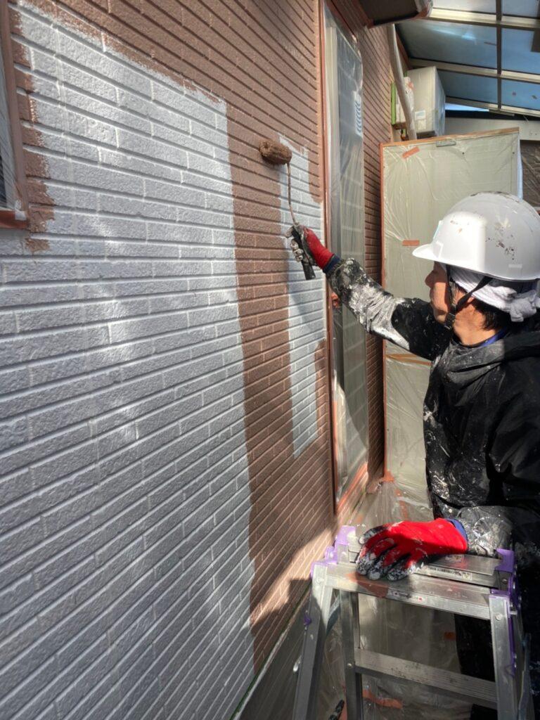 久留米市 外壁中塗り 写真5