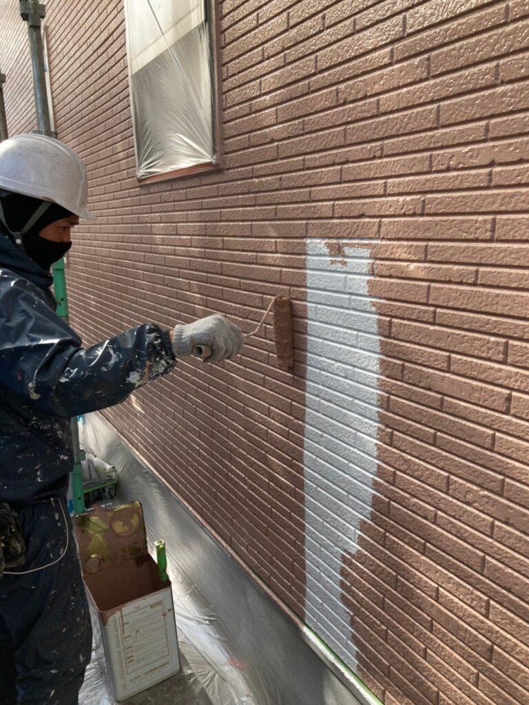 久留米市 外壁中塗り 写真7
