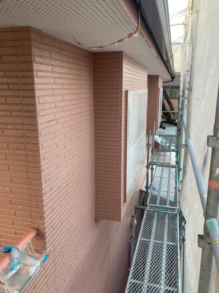 久留米市 外壁中塗り 写真8