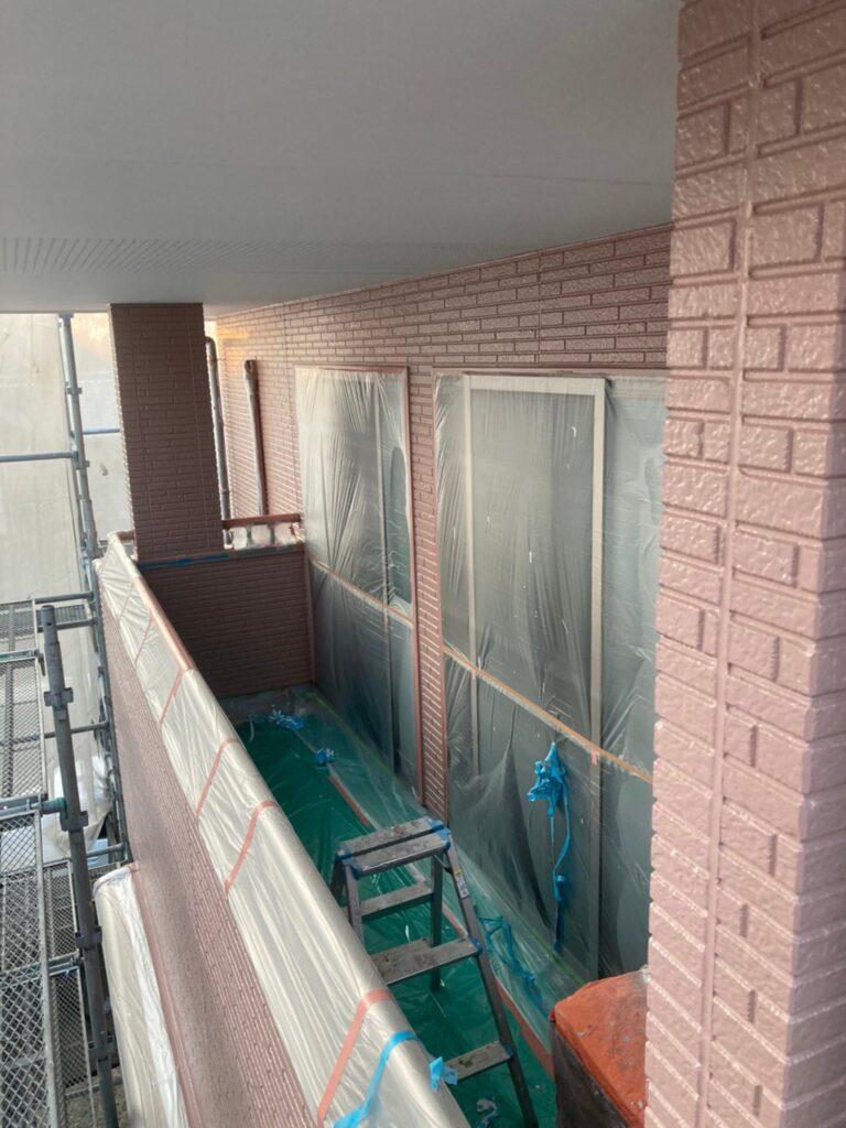 久留米市 外壁中塗り 写真9