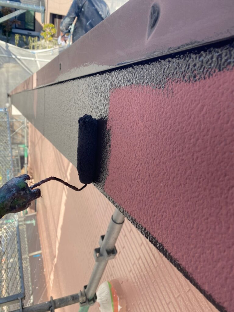 久留米市 屋根下塗りと各所付帯塗装 写真11
