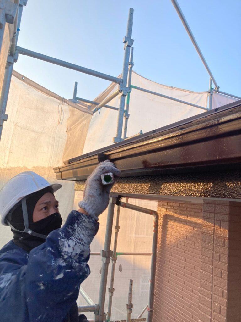久留米市 屋根下塗りと各所付帯塗装 写真13