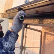 久留米市 屋根下塗りと各所付帯塗装