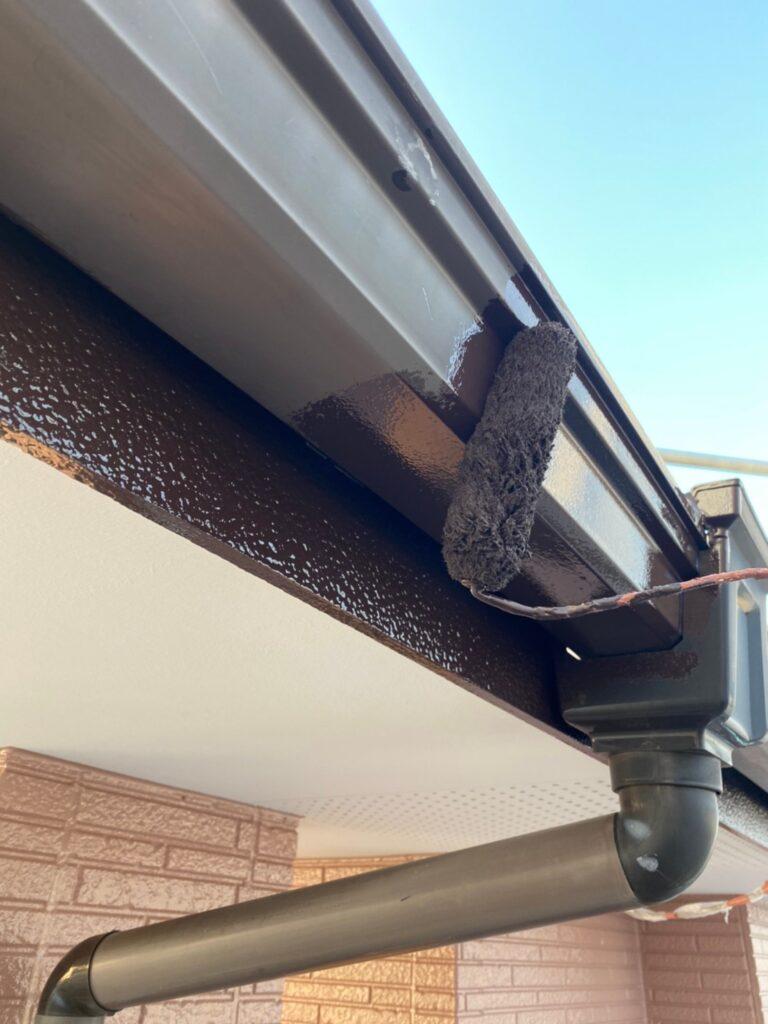 久留米市 屋根下塗りと各所付帯塗装 写真15