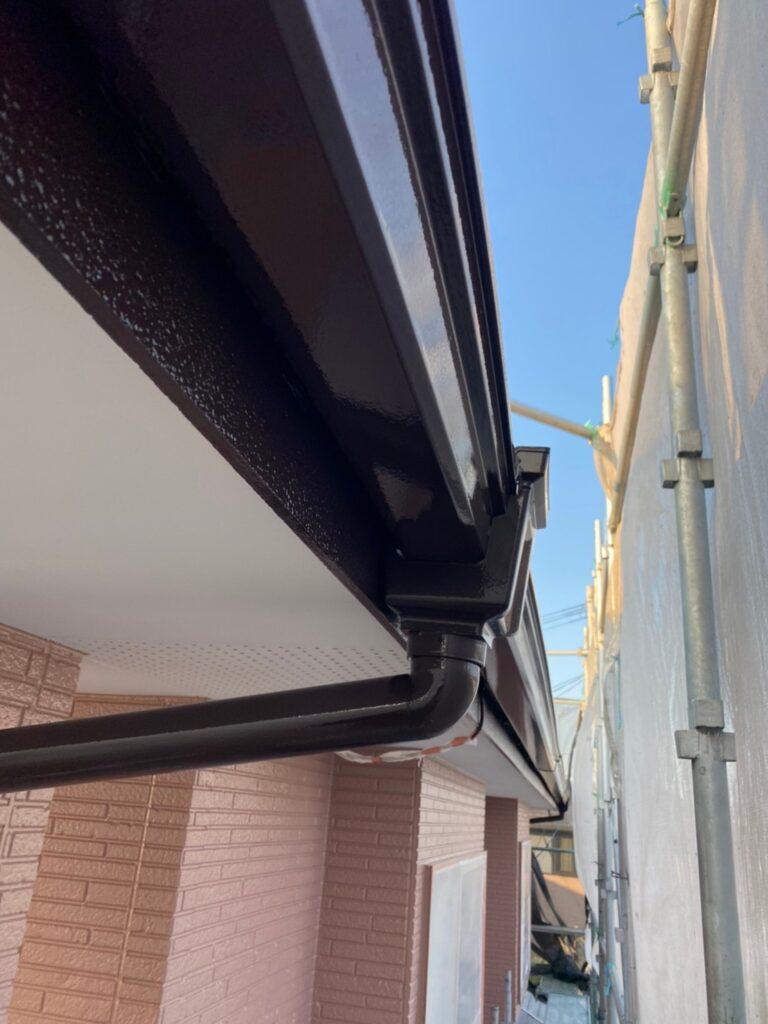 久留米市 屋根下塗りと各所付帯塗装 写真16