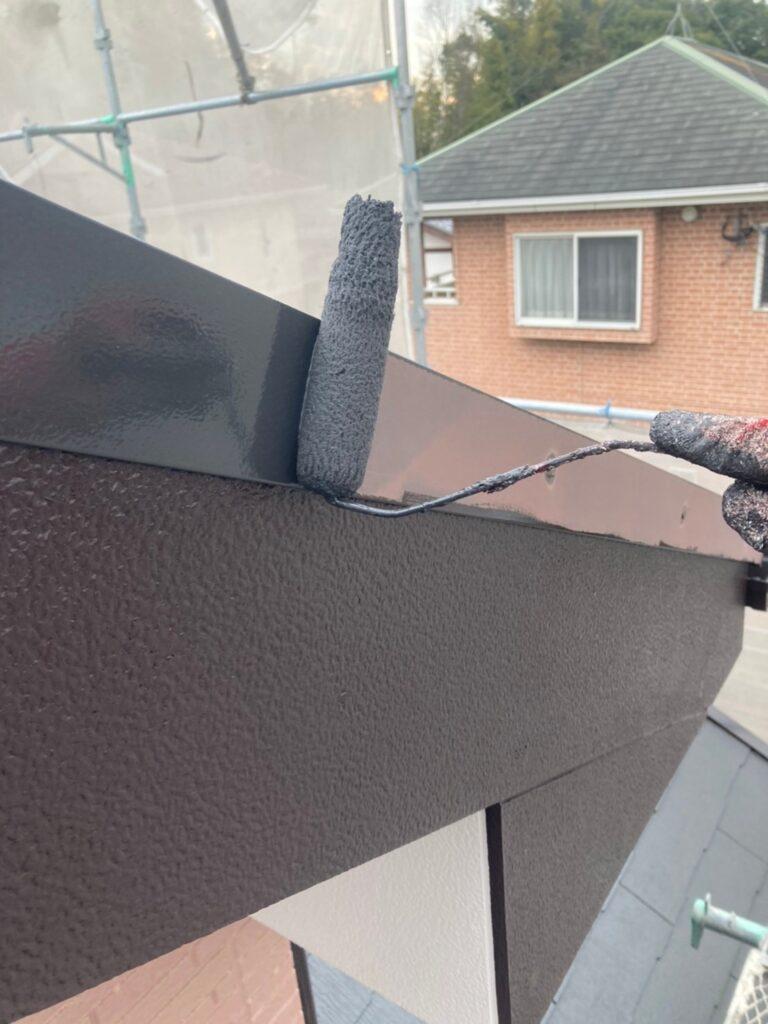 久留米市 屋根中塗りと各所付帯塗装 写真6