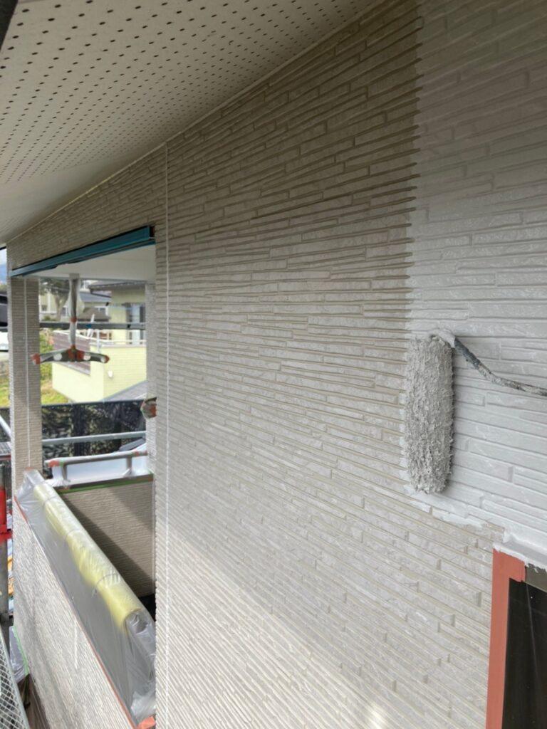 鳥栖市 外壁中塗りと軒天塗装 写真10