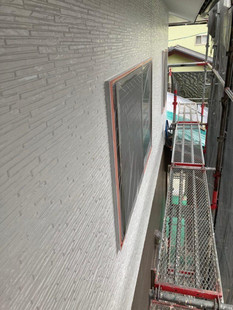 鳥栖市 外壁中塗りと軒天塗装 写真14