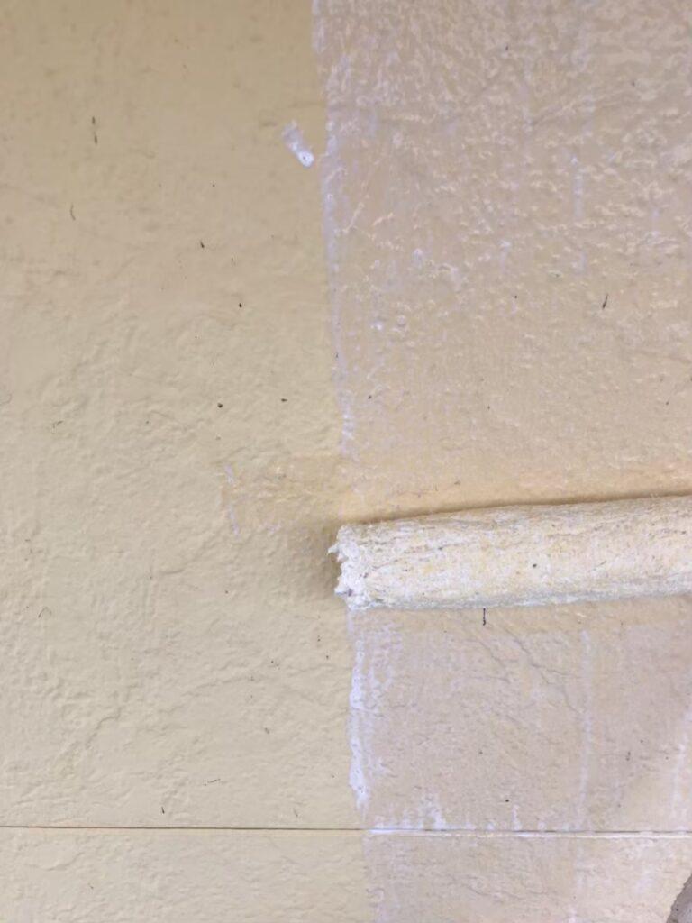 行橋市 軒天塗装と外壁下塗り 写真17