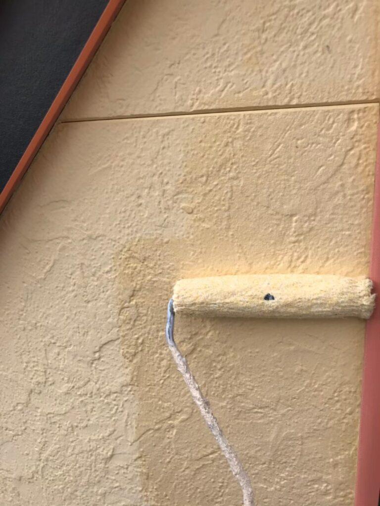 行橋市 軒天塗装と外壁下塗り 写真18