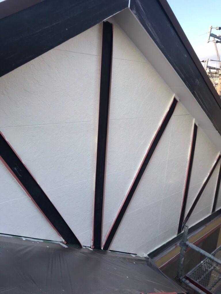 行橋市 外壁中塗りと上塗り 写真10