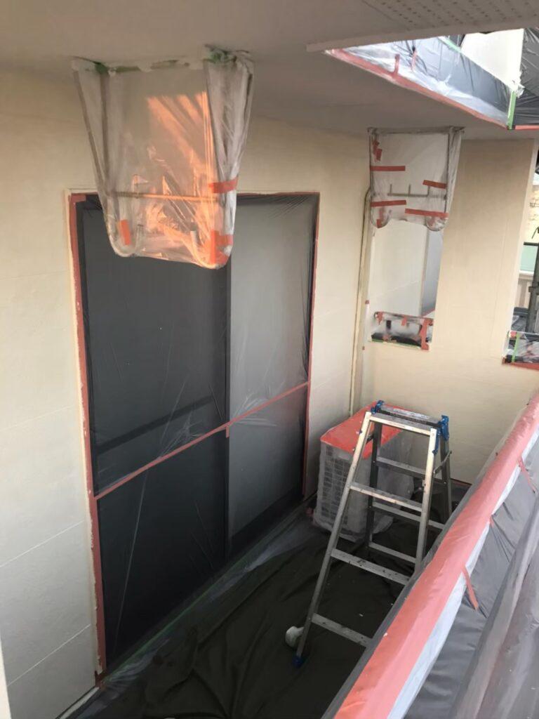行橋市 外壁中塗りと上塗り 写真11