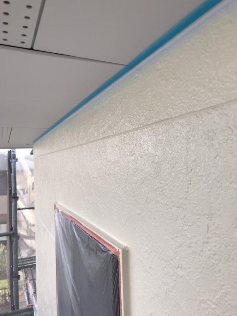 行橋市 外壁中塗りと上塗り 写真17