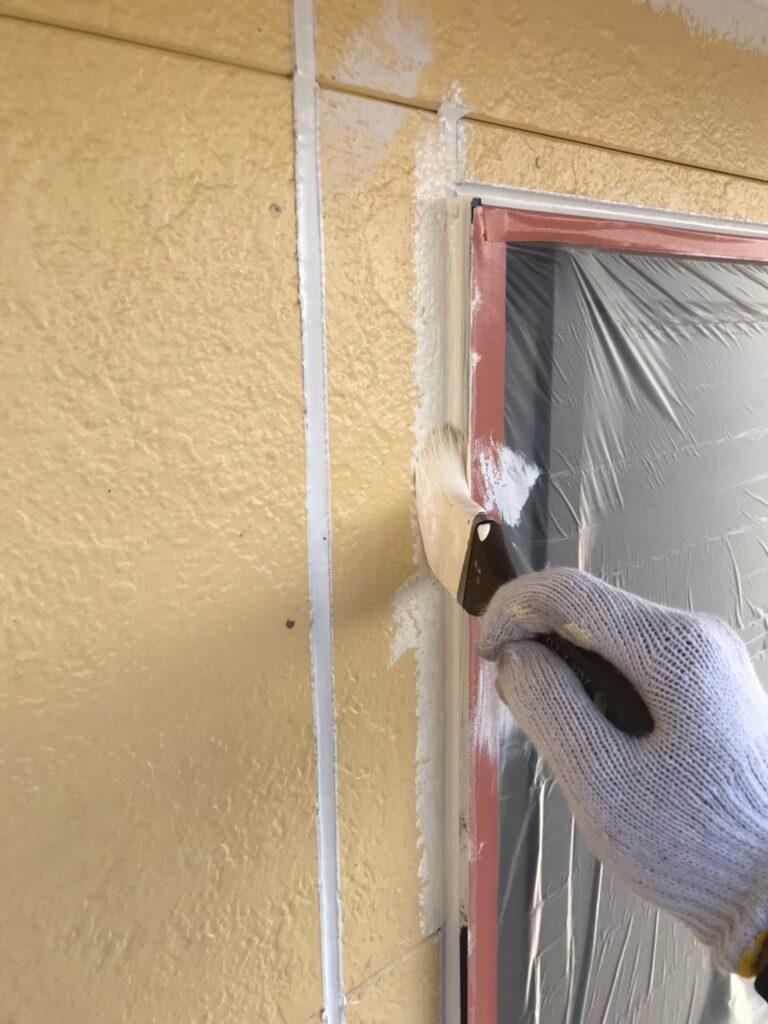 行橋市 外壁中塗りと上塗り 写真3