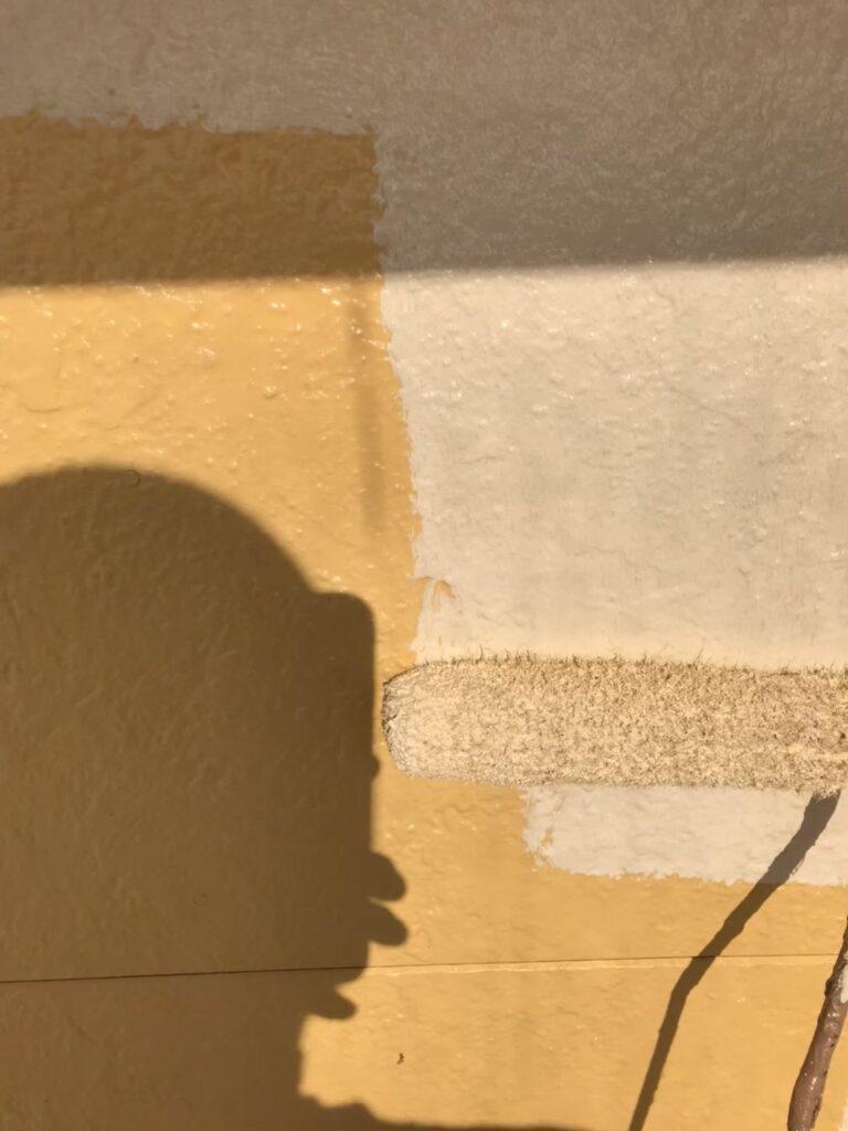 行橋市 外壁中塗りと上塗り 写真6