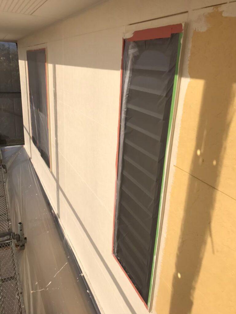 行橋市 外壁中塗りと上塗り 写真7