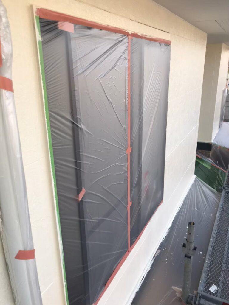行橋市 外壁中塗りと上塗り 写真8