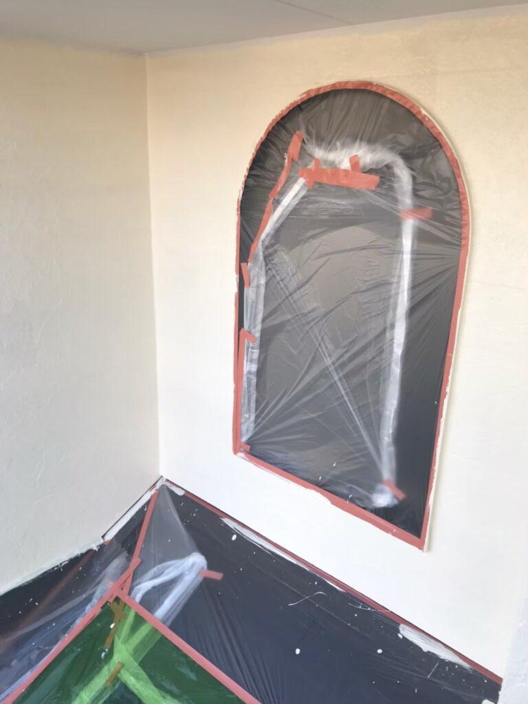 行橋市 外壁中塗りと上塗り 写真9
