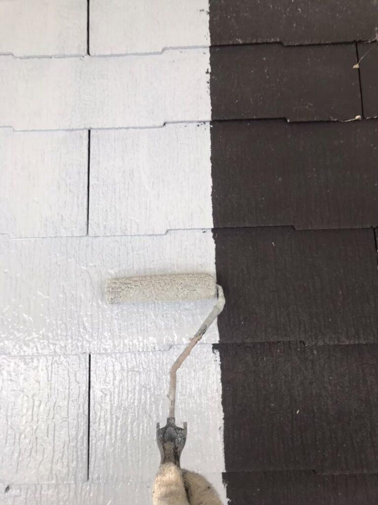 行橋市 屋根下塗り 写真3