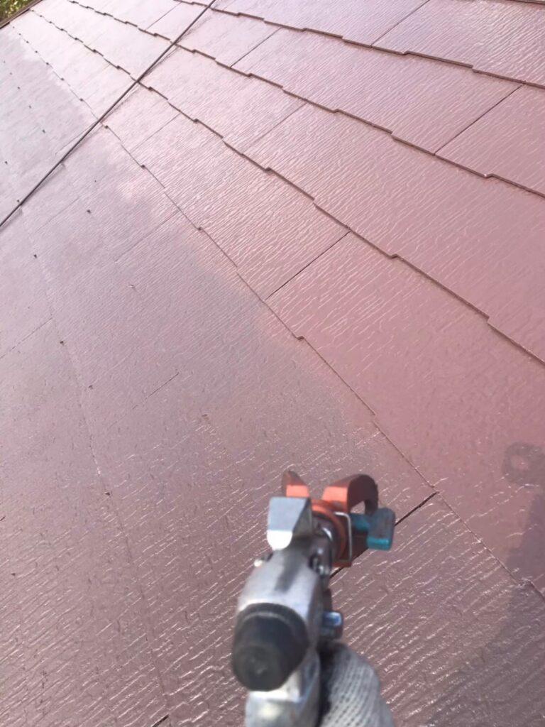 行橋市 屋根中塗りと上塗り 写真10