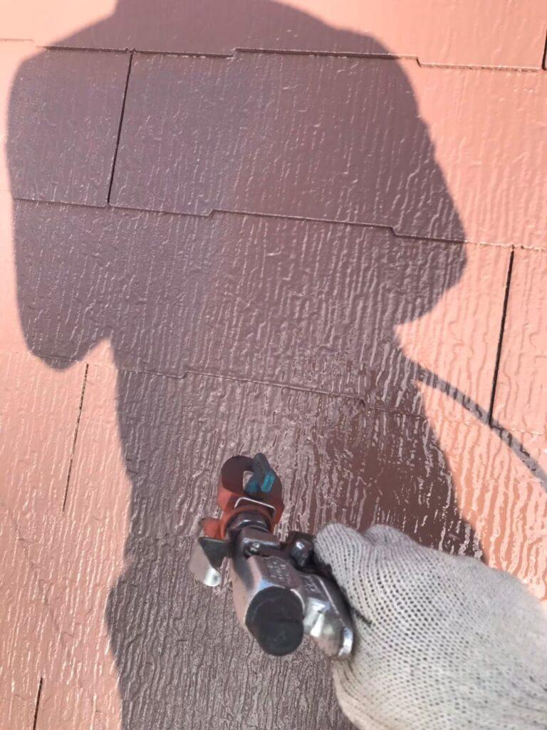 行橋市 屋根中塗りと上塗り 写真11