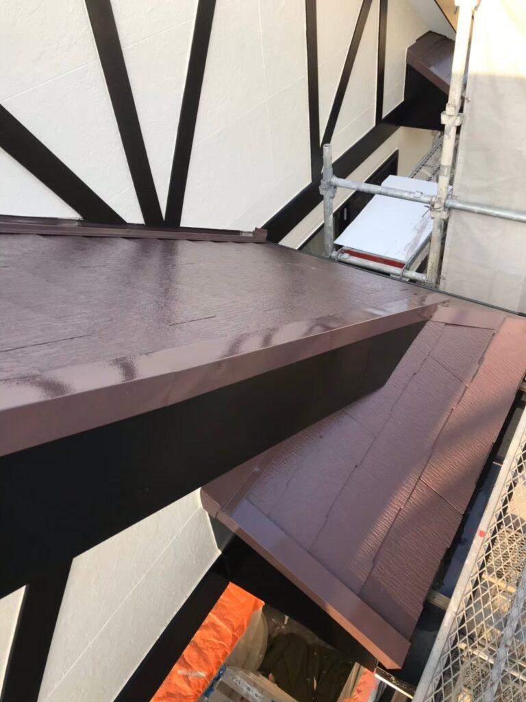 行橋市 屋根中塗りと上塗り 写真18