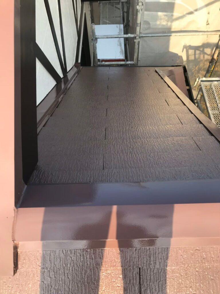 行橋市 屋根中塗りと上塗り 写真19