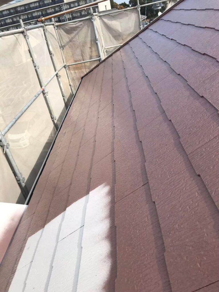 行橋市 屋根中塗りと上塗り 写真5