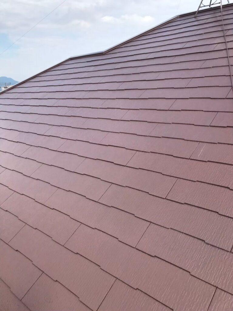 行橋市 屋根中塗りと上塗り 写真7