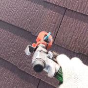 行橋市 屋根中塗りと上塗り