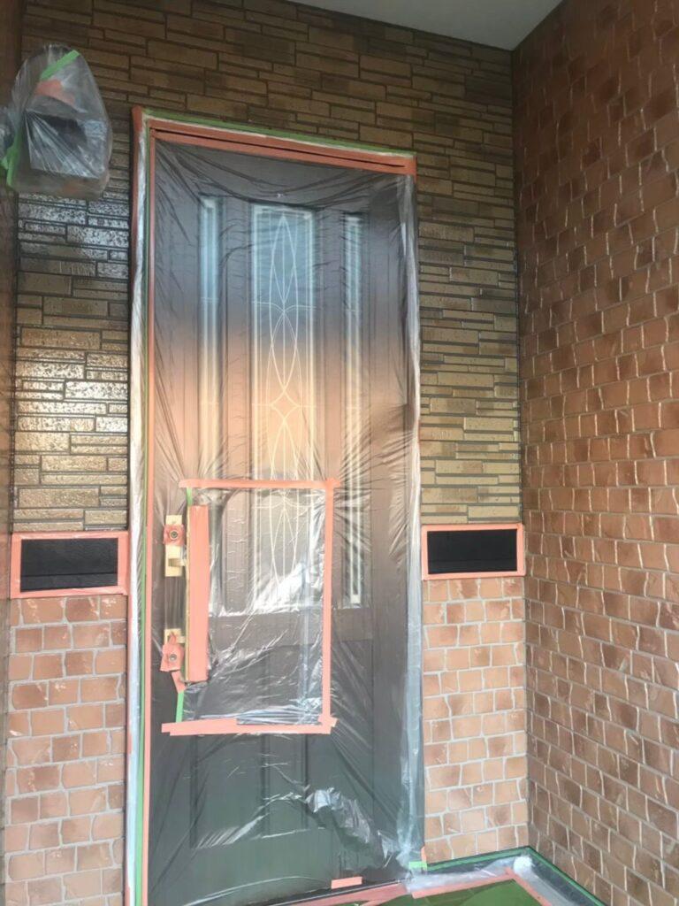 行橋市 1階外壁クリアー塗装 写真12