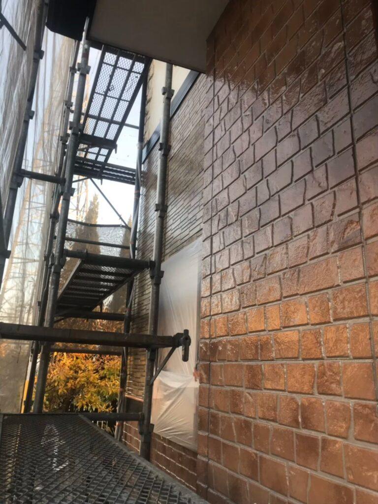 行橋市 1階外壁クリアー塗装 写真13