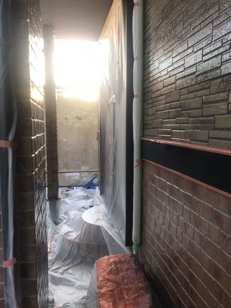 行橋市 1階外壁クリアー塗装 写真14
