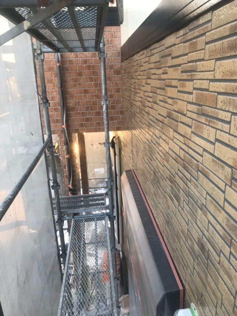 行橋市 1階外壁クリアー塗装 写真15