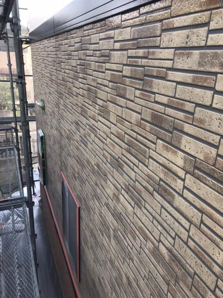 行橋市 1階外壁クリアー塗装 写真6
