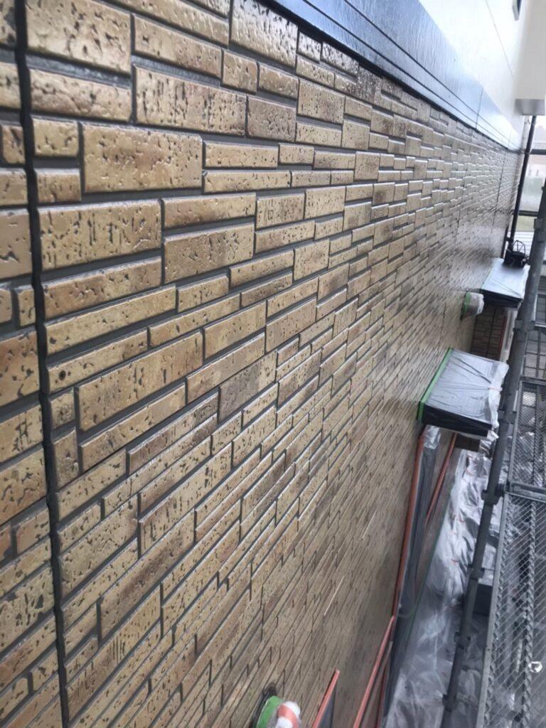 行橋市 1階外壁クリアー塗装 写真8