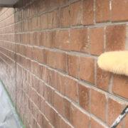 行橋市 1階外壁クリアー塗装