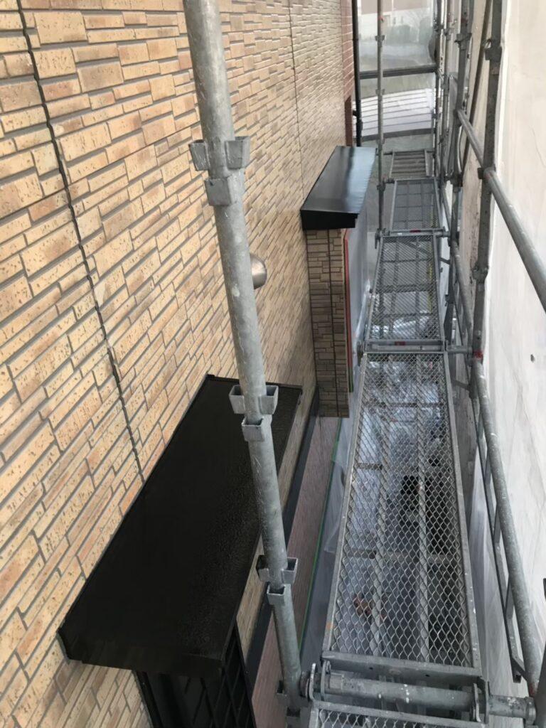 行橋市 1階の軒天と付帯塗装 写真14