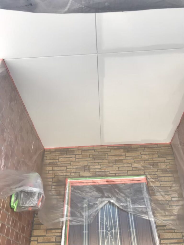 行橋市 1階の軒天と付帯塗装 写真3