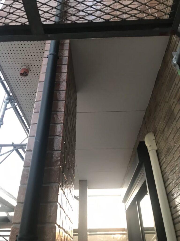 行橋市 1階の軒天と付帯塗装 写真5