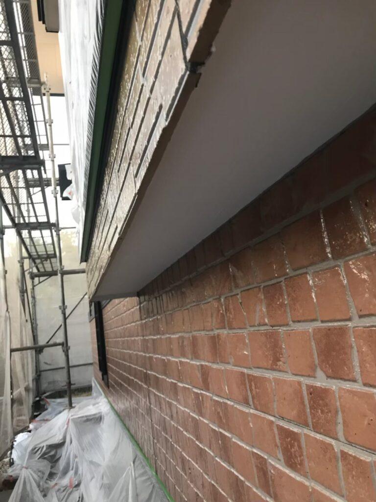 行橋市 1階の軒天と付帯塗装 写真6