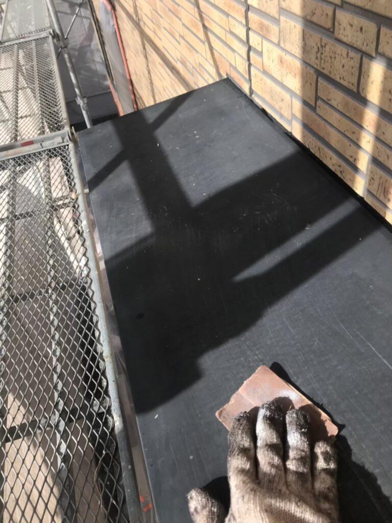 行橋市 1階の軒天と付帯塗装 写真8