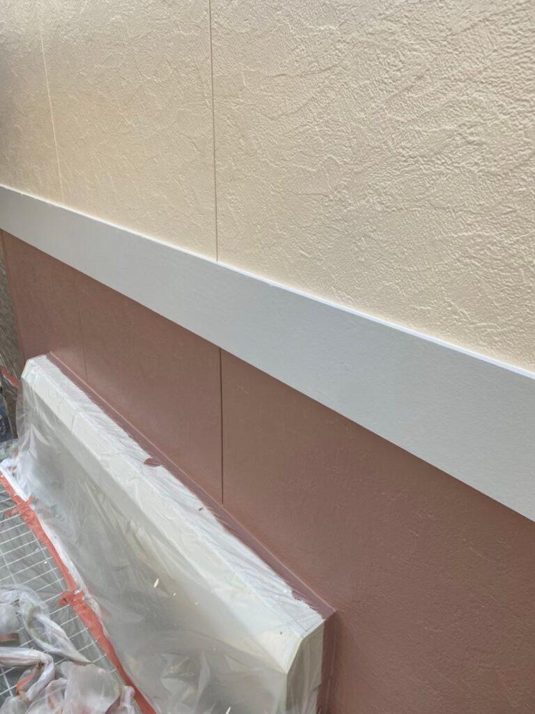 職人の手捌き動画 帯板(幕板)塗装完了