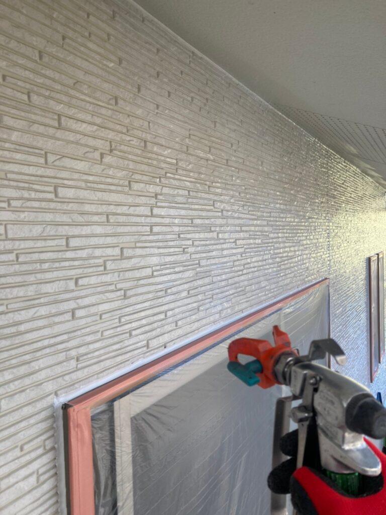 鳥栖市 外壁下塗り 写真2