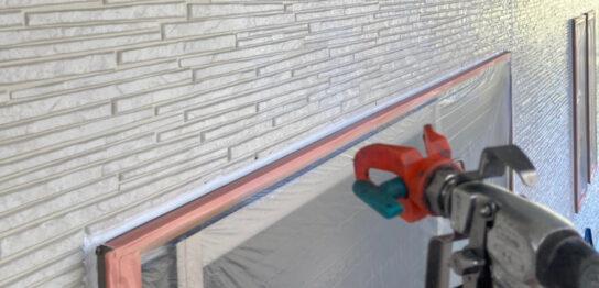 鳥栖市 外壁下塗り