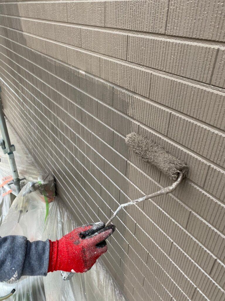 鳥栖市 外壁上塗り 写真15
