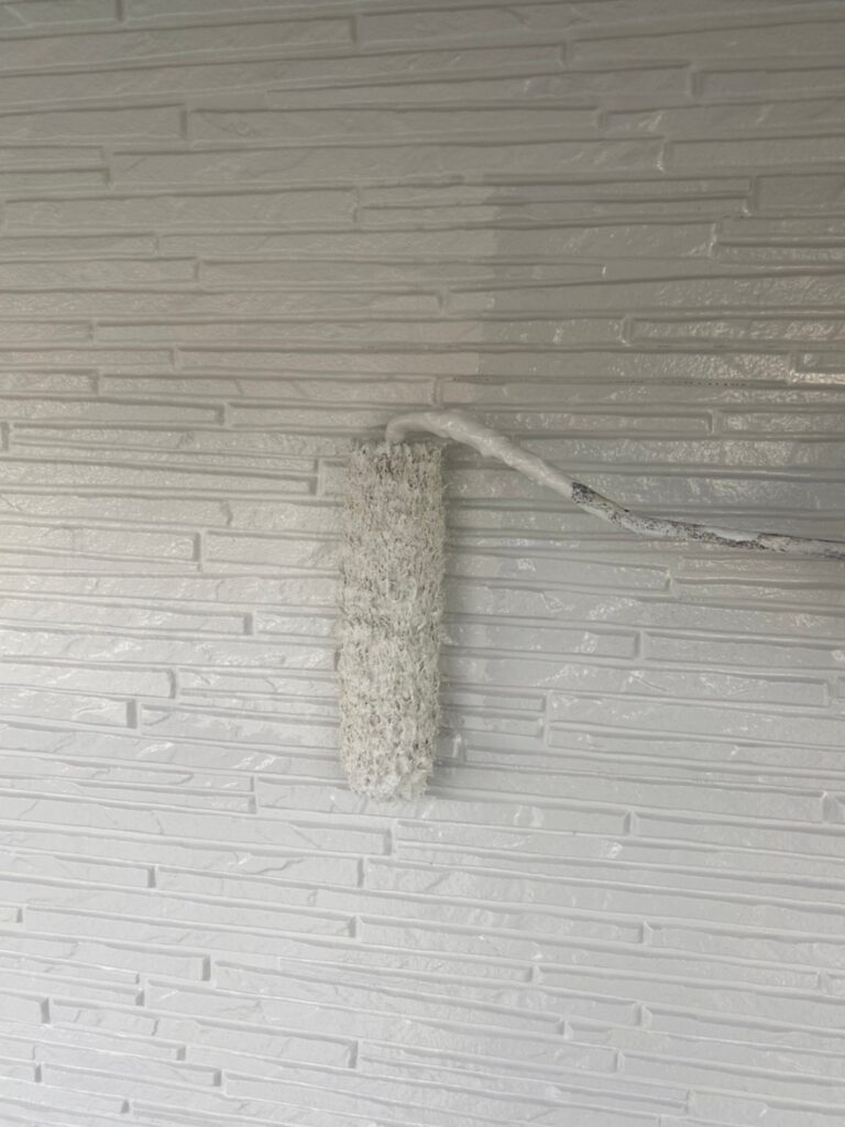 鳥栖市 外壁上塗り 写真4