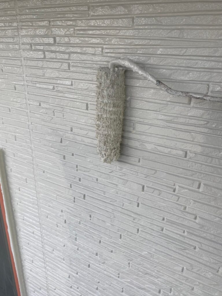鳥栖市 外壁上塗り 写真6