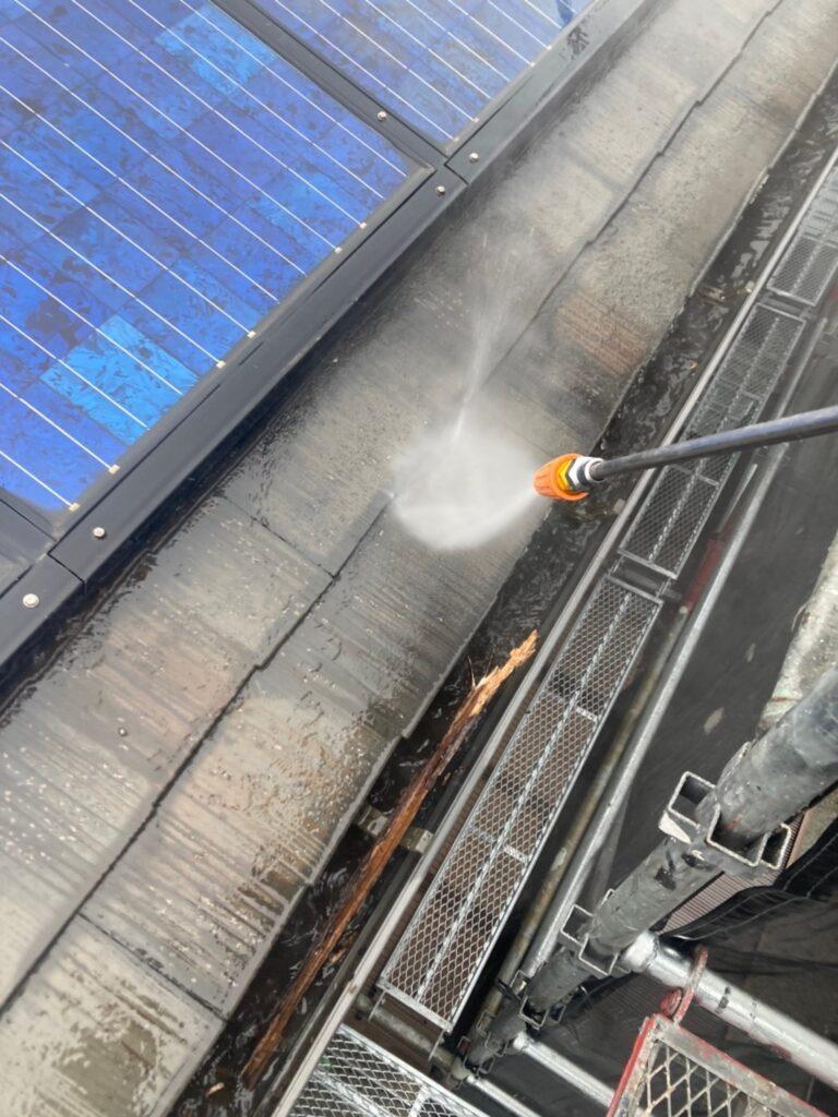 飯塚市 高圧洗浄 写真1